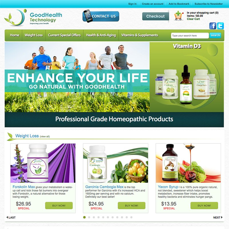 Good Health Technology Website